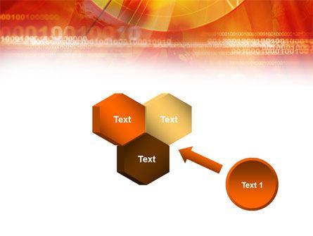 Orange Binary Theme PowerPoint Template Slide 19