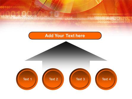 Orange Binary Theme PowerPoint Template Slide 8