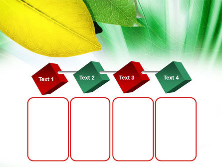 Green-Yellow Leaves PowerPoint Template Slide 18