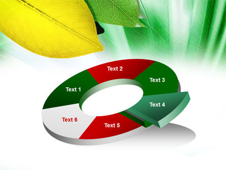Green-Yellow Leaves PowerPoint Template Slide 19
