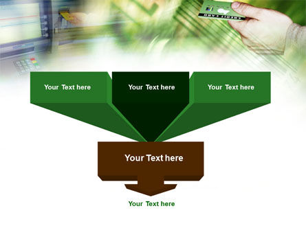 Cash Machine PowerPoint Template, Slide 3, 00891, Business — PoweredTemplate.com