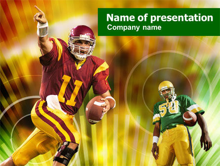 American football national conference powerpoint template american football national conference powerpoint template 00892 sports poweredtemplate toneelgroepblik Image collections