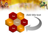 American Football National Conference PowerPoint Template#11