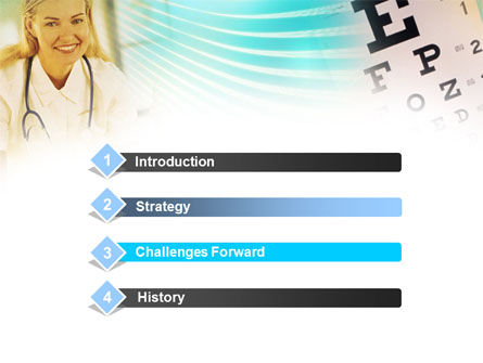 Ophthalmology PowerPoint Template Slide 3