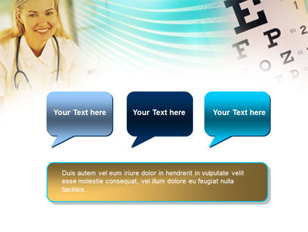 Ophthalmology PowerPoint Template Slide 9