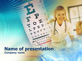 Medical: Templat PowerPoint Ophthalmology #00893