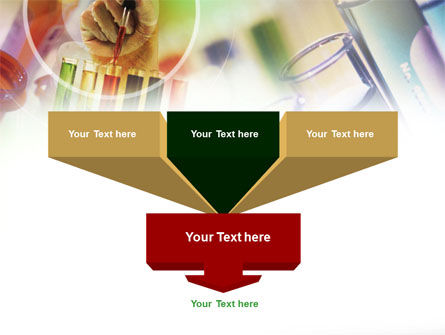 Pharmacy Testing PowerPoint Template, Slide 3, 00894, Technology and Science — PoweredTemplate.com