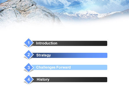 Mountain View PowerPoint Template Slide 3