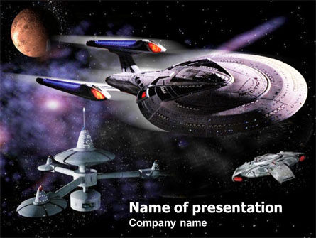 Space Movies PowerPoint Template