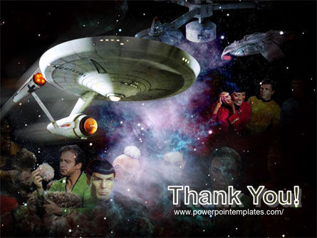 Star Trek PowerPoint Template Slide 20