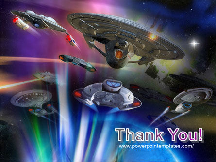 Space Ships PowerPoint Template Slide 20