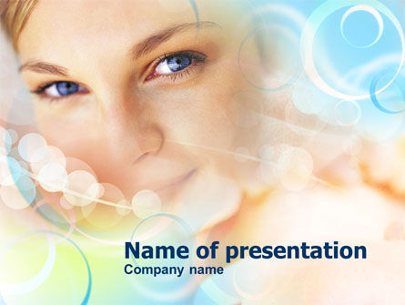 Health and Recreation: Women's Beauty PowerPoint Template #00903
