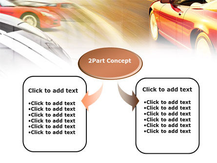 Car Racing PowerPoint Template, Slide 4, 00904, Cars and Transportation — PoweredTemplate.com