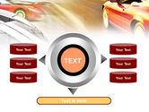 Car Racing PowerPoint Template#12