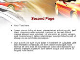Car Racing PowerPoint Template#2
