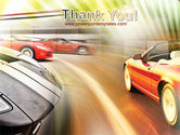 Car Racing PowerPoint Template#20