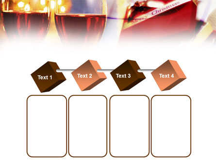 Romantic Christmas Gift PowerPoint Template Slide 18
