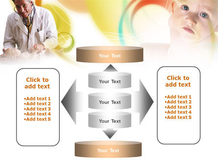 Baby Doctor PowerPoint Template Slide 13