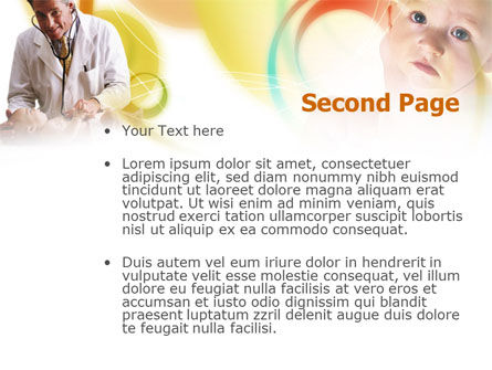 Baby Doctor PowerPoint Template Slide 2