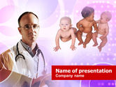 Medical: Pediatrician PowerPoint Template #00908