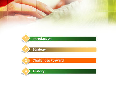 Computer Use PowerPoint Template, Slide 3, 00910, Technology and Science — PoweredTemplate.com