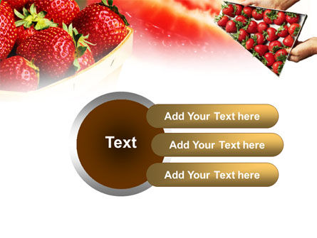 Strawberry Farming PowerPoint Template Slide 12