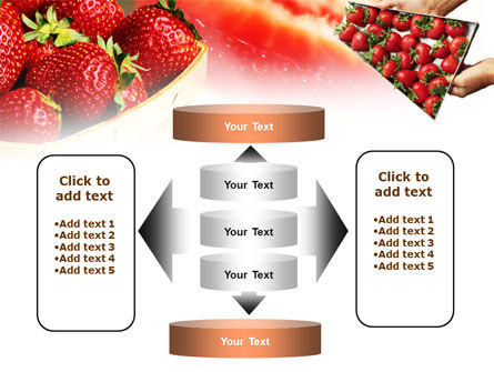 Strawberry Farming PowerPoint Template Slide 13