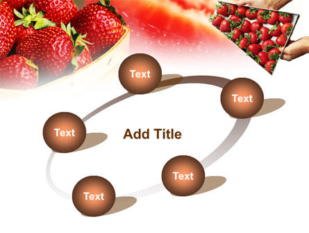 Strawberry Farming PowerPoint Template Slide 14