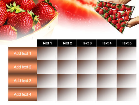 Strawberry Farming PowerPoint Template Slide 15