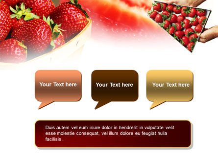 Strawberry Farming PowerPoint Template Slide 9