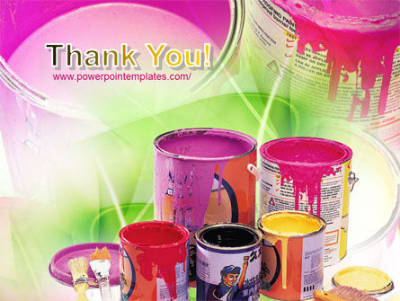 Paint In Cans PowerPoint Template Slide 20
