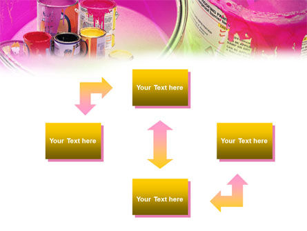 Paint In Cans PowerPoint Template, Slide 4, 00914, Careers/Industry — PoweredTemplate.com