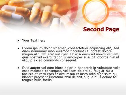 Drug Prescription PowerPoint Template, Slide 2, 00915, Medical — PoweredTemplate.com
