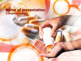 Medical: Drug Prescription PowerPoint Template #00915