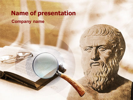 Education & Training: Greek Philosophy PowerPoint Template #00921