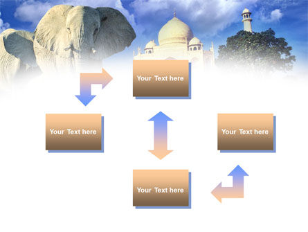 India PowerPoint Template, Slide 4, 00923, Flags/International — PoweredTemplate.com