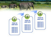 Plains Of Kilimanjaro National Park PowerPoint Template#14