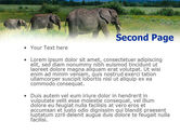 Plains Of Kilimanjaro National Park PowerPoint Template#2