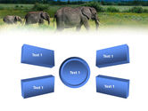 Plains Of Kilimanjaro National Park PowerPoint Template#6