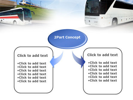 Charter Bus PowerPoint Template, Slide 4, 00927, Cars and Transportation — PoweredTemplate.com