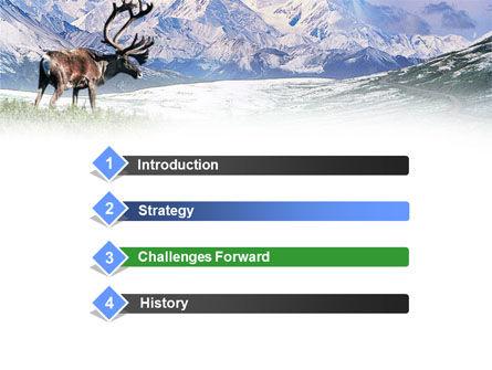 Alaska Elk PowerPoint Template, Slide 3, 00928, Animals and Pets — PoweredTemplate.com