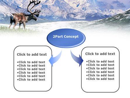 Alaska Elk PowerPoint Template, Slide 4, 00928, Animals and Pets — PoweredTemplate.com
