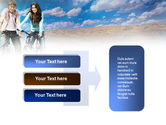 Road Bikes PowerPoint Template#11
