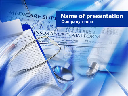 Medical Insurance PowerPoint Template, 00931, Medical — PoweredTemplate.com