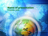 Global: World Business Theme PowerPoint Template #00932