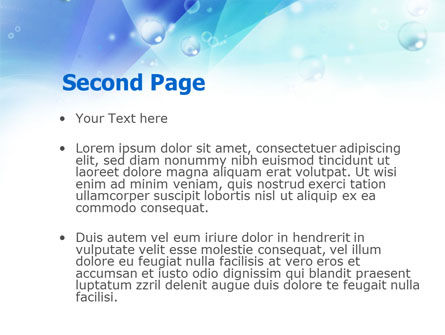 Near the Pool PowerPoint Template, Slide 2, 00933, Medical — PoweredTemplate.com