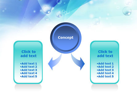 Near the Pool PowerPoint Template, Slide 4, 00933, Medical — PoweredTemplate.com