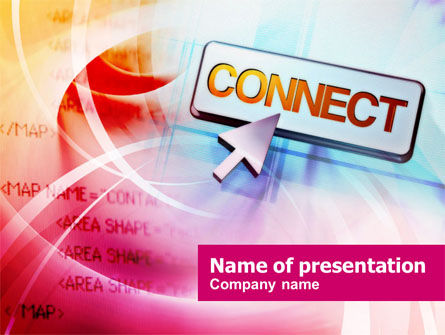 Technology and Science: Internet Connect PowerPoint Template #00934
