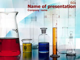 Technology and Science: Laboratory Glassware PowerPoint Template #00935