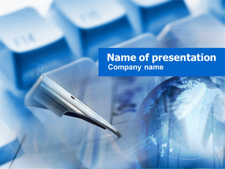 Business: Internet Business PowerPoint Template #00938